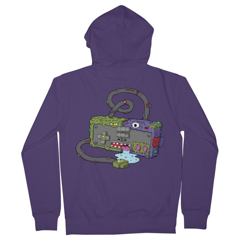 Controller Freaks - The NES Women's French Terry Zip-Up Hoody by Mystic Soda Shoppe