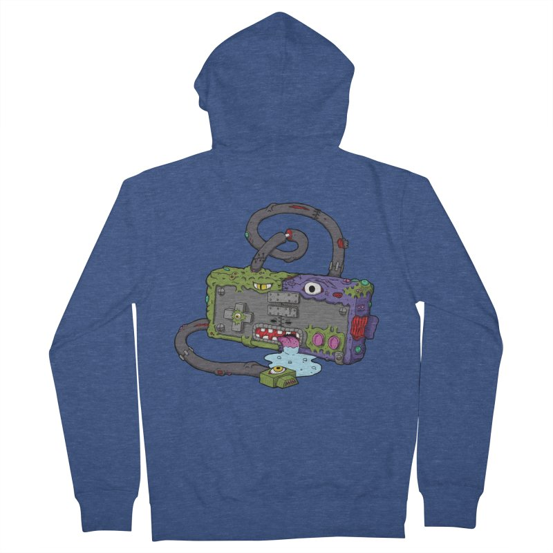 Controller Freaks - Subject N35 Men's French Terry Zip-Up Hoody by Mystic Soda