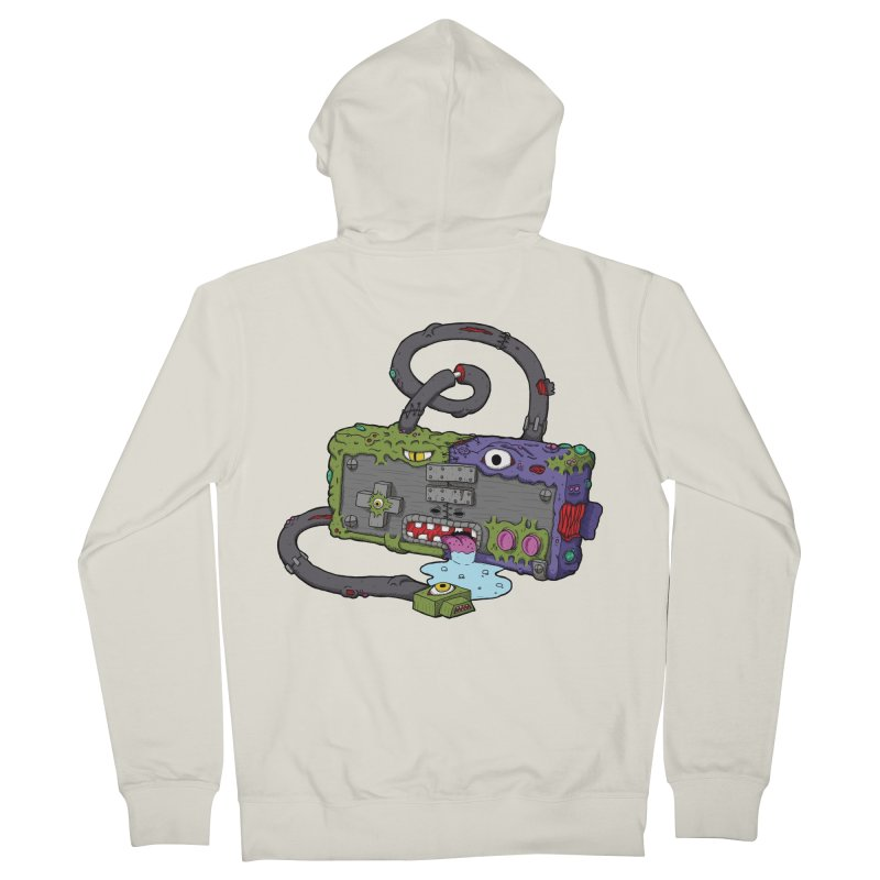 Controller Freaks - The NES Men's French Terry Zip-Up Hoody by Mystic Soda Shoppe