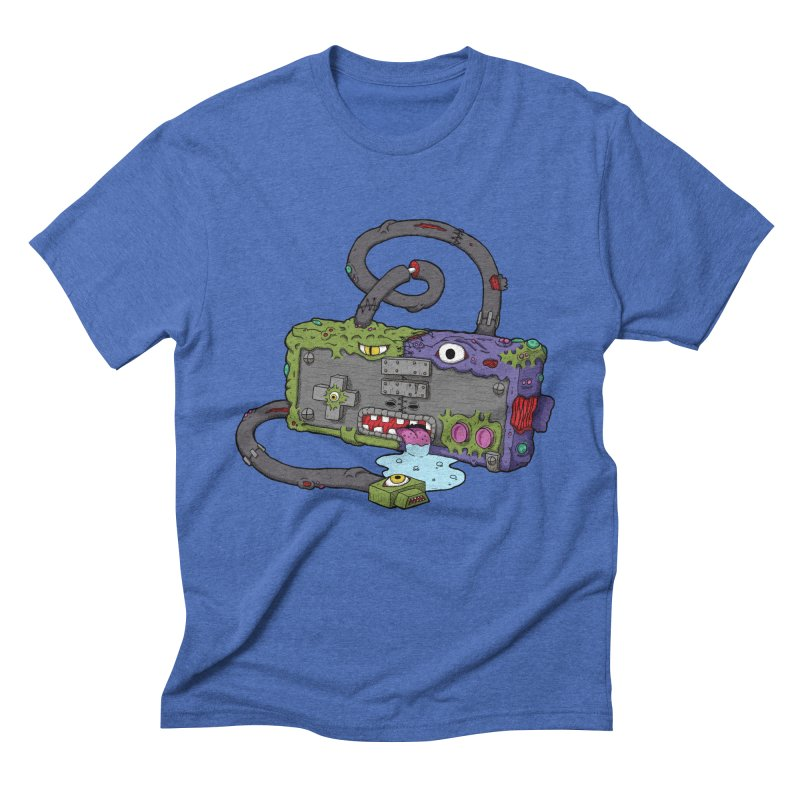 Controller Freaks - The NES Men's Triblend T-Shirt by Mystic Soda Shoppe