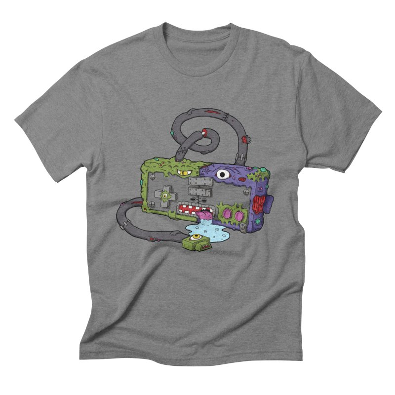 Controller Freaks - Subject N35 Men's Triblend T-Shirt by Mystic Soda