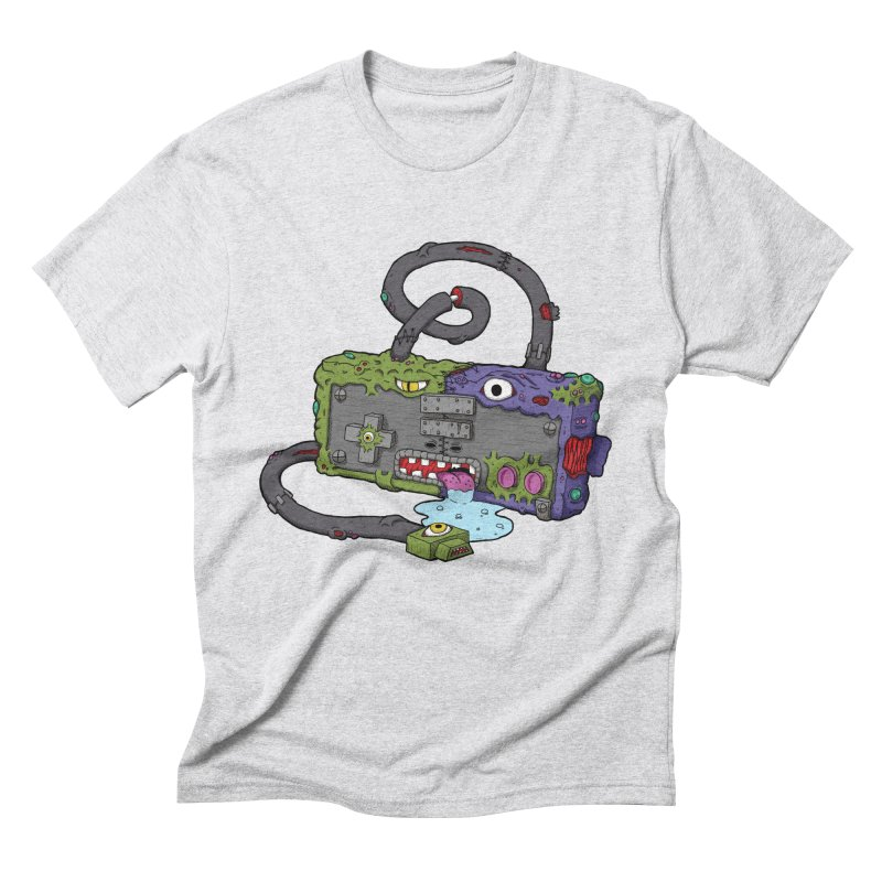 Controller Freaks - The NES Men's Triblend T-Shirt by Mystic Soda Shoppe