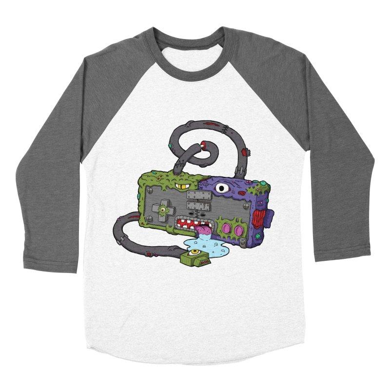Controller Freaks - Subject N35 Women's Baseball Triblend Longsleeve T-Shirt by Mystic Soda