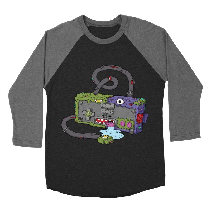 Controller Freaks - The NES Women's Baseball Triblend Longsleeve T-Shirt by Mystic Soda Shoppe