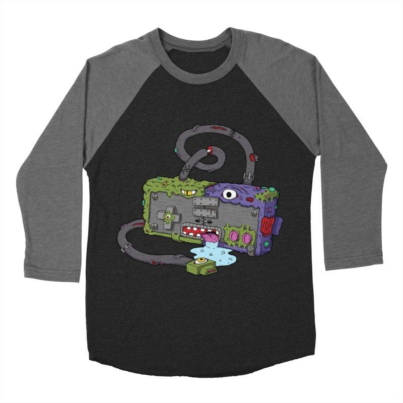 Controller Freaks - The NES Men's Baseball Triblend T-Shirt by Mystic Soda Shoppe
