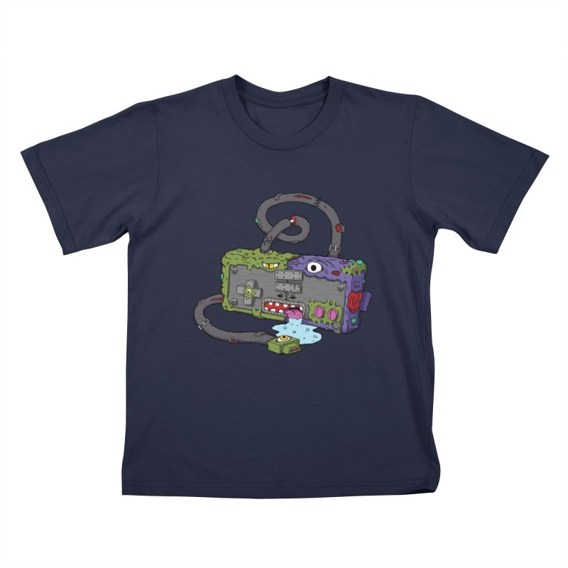 Controller Freaks - Subject N35 Kids T-Shirt by Mystic Soda