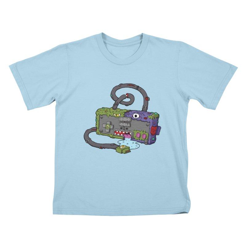 Controller Freaks - Subject N35 Kids T-Shirt by Mystic Soda