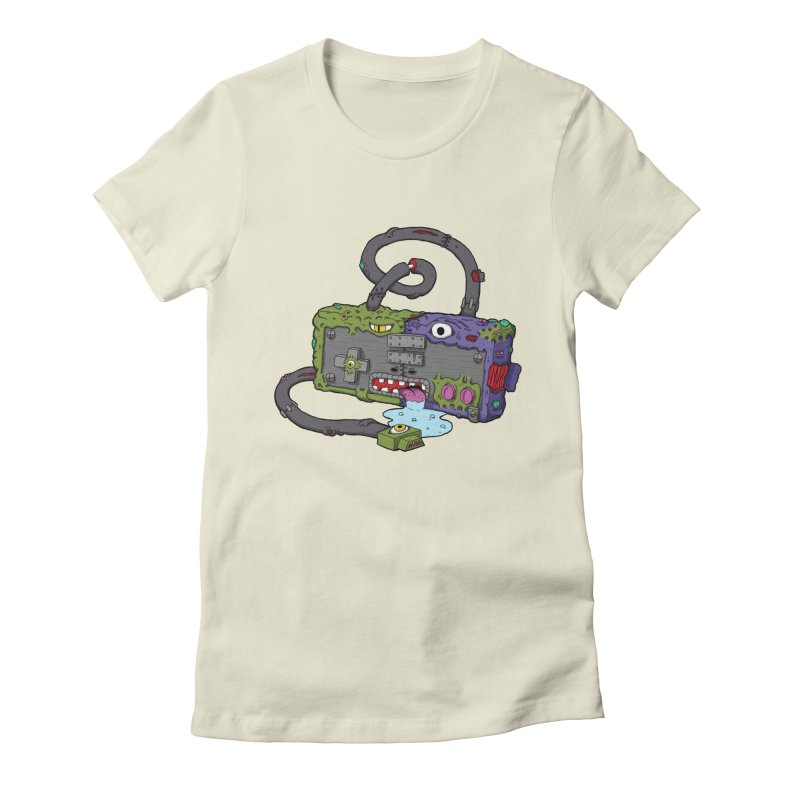 Controller Freaks - Subject N35 Women's Fitted T-Shirt by Mystic Soda