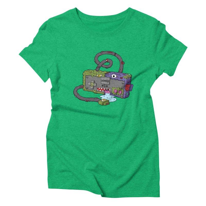Controller Freaks - Subject N35 Women's Triblend T-Shirt by Mystic Soda