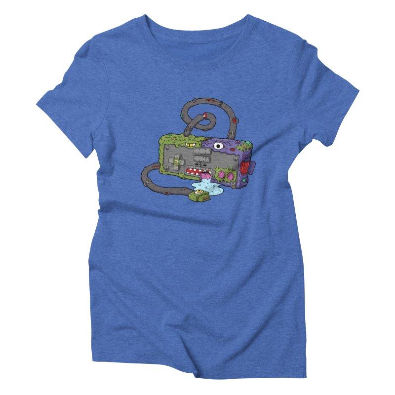 Controller Freaks - The NES Women's Triblend T-Shirt by Mystic Soda Shoppe