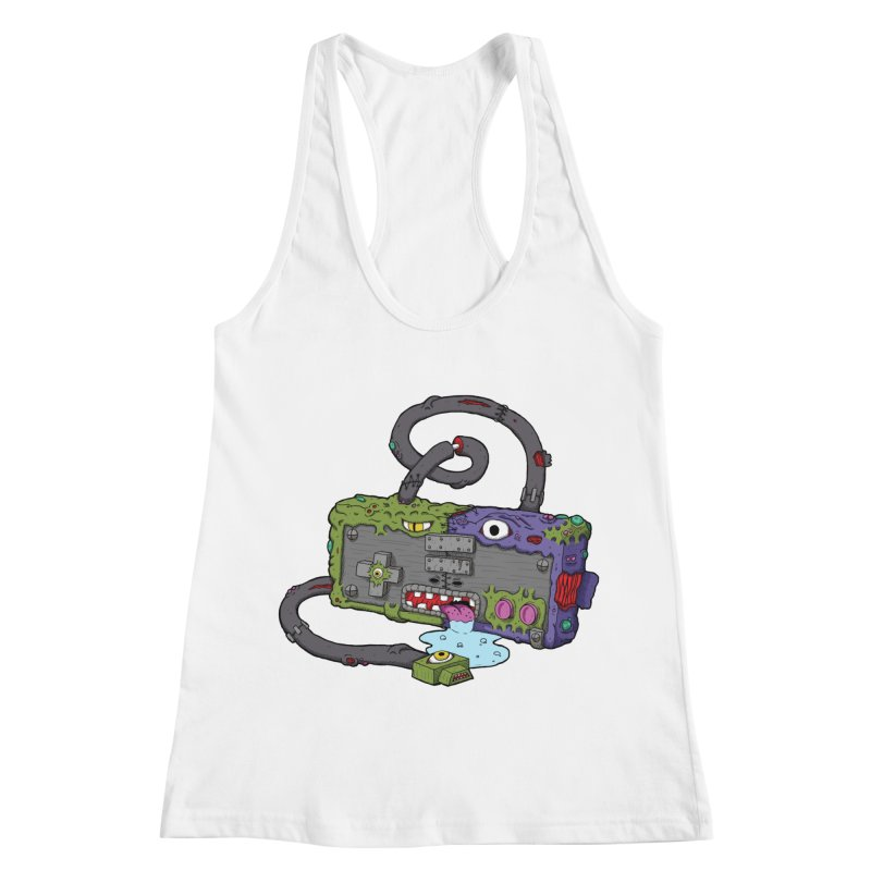 Controller Freaks - Subject N35 Women's Racerback Tank by Mystic Soda