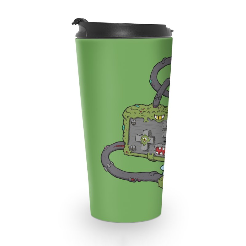 Controller Freaks - Subject N35 Accessories Travel Mug by Mystic Soda