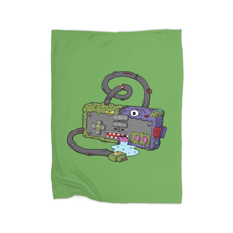 Controller Freaks - Subject N35 Home Fleece Blanket Blanket by Mystic Soda