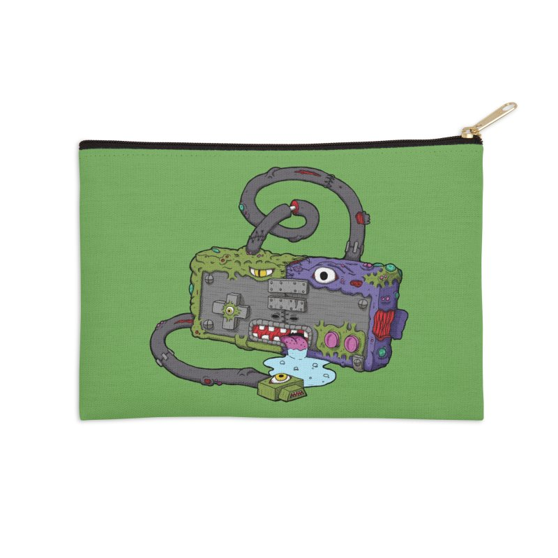 Controller Freaks - The NES Accessories Zip Pouch by Mystic Soda Shoppe