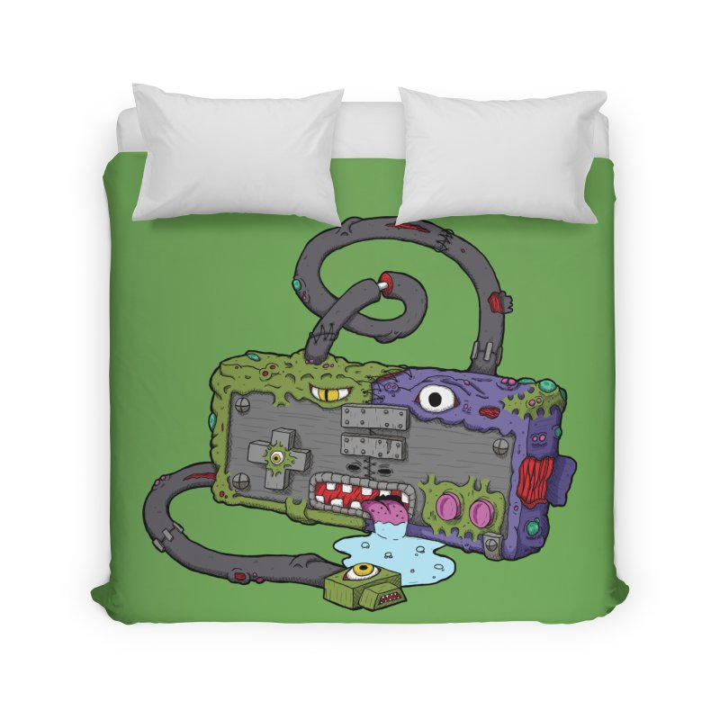 Controller Freaks - Subject N35 Home Duvet by Mystic Soda