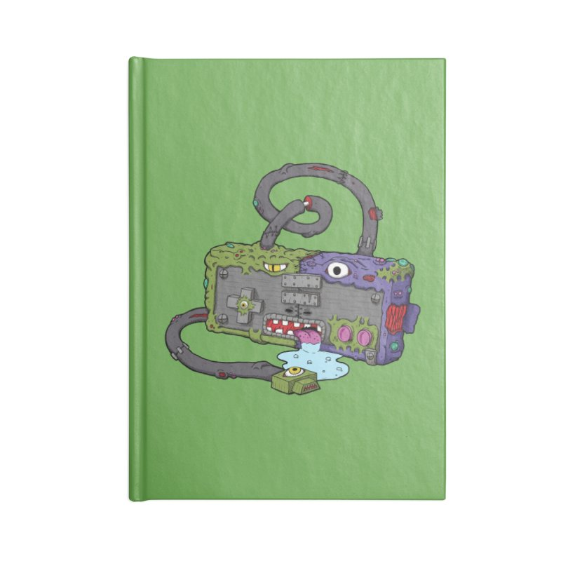 Controller Freaks - Subject N35 Accessories Lined Journal Notebook by Mystic Soda