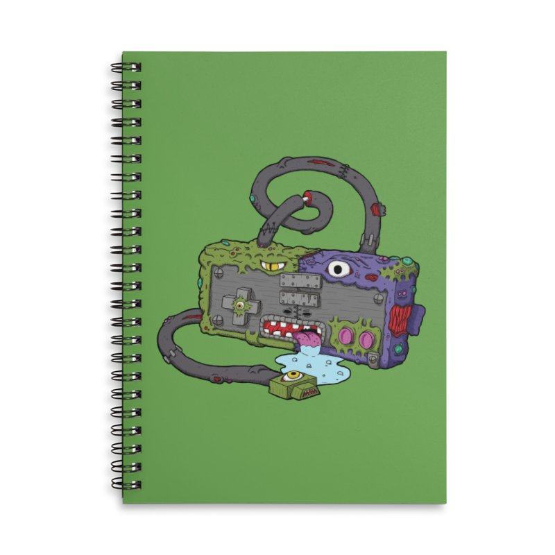 Controller Freaks - Subject N35 Accessories Lined Spiral Notebook by Mystic Soda