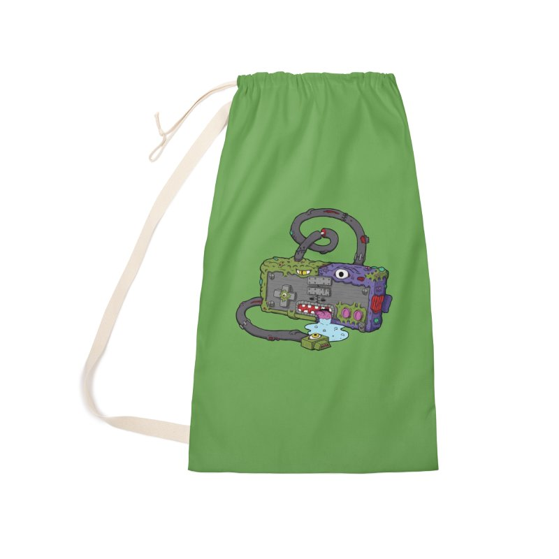 Controller Freaks - Subject N35 Accessories Laundry Bag Bag by Mystic Soda