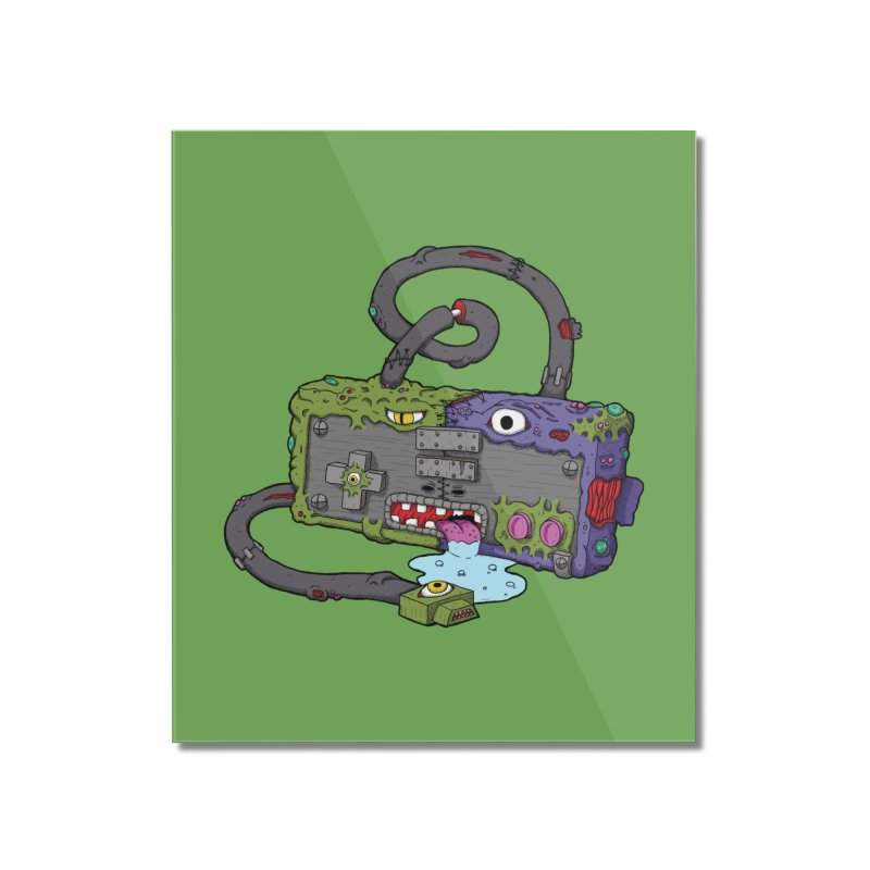 Controller Freaks - Subject N35 Home Mounted Acrylic Print by Mystic Soda