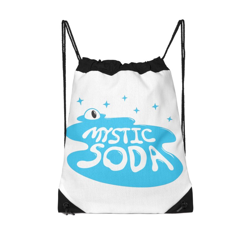 Mystic Soda Accessories Drawstring Bag Bag by Mystic Soda