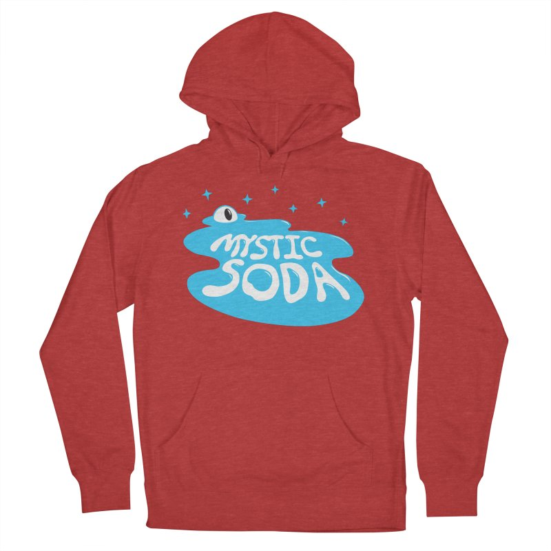 Mystic Soda Men's French Terry Pullover Hoody by Mystic Soda