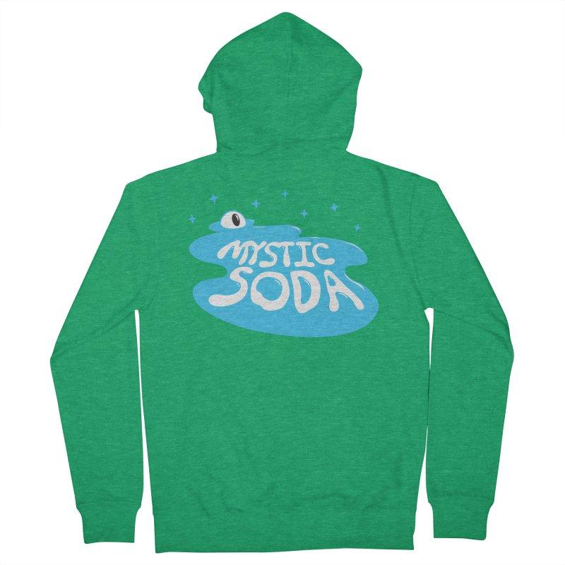 Mystic Soda Men's Zip-Up Hoody by Mystic Soda