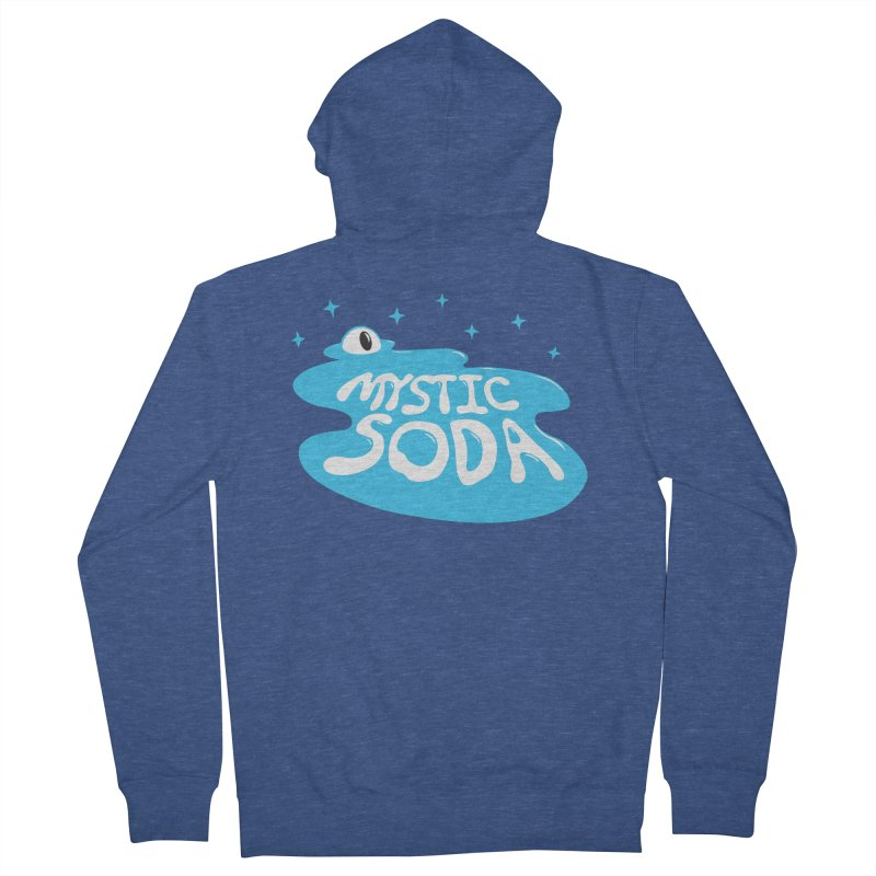 Mystic Soda Men's French Terry Zip-Up Hoody by Mystic Soda Shoppe