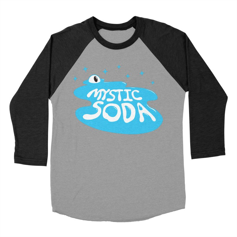 Mystic Soda Women's Baseball Triblend Longsleeve T-Shirt by Mystic Soda Shoppe