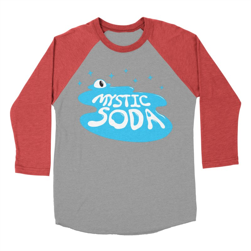 Mystic Soda Men's Baseball Triblend Longsleeve T-Shirt by Mystic Soda Shoppe