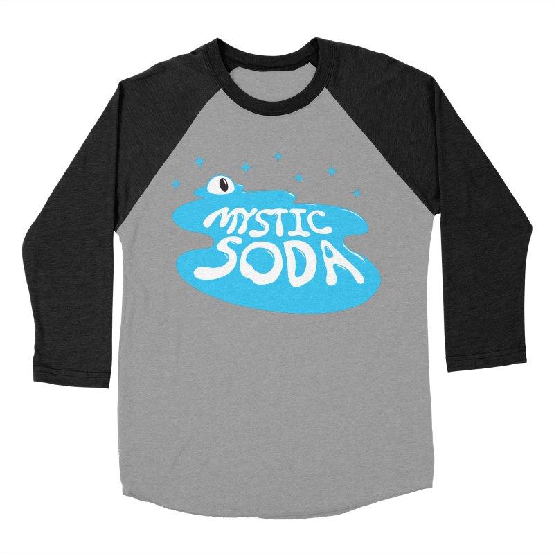 Mystic Soda Men's Baseball Triblend Longsleeve T-Shirt by Mystic Soda