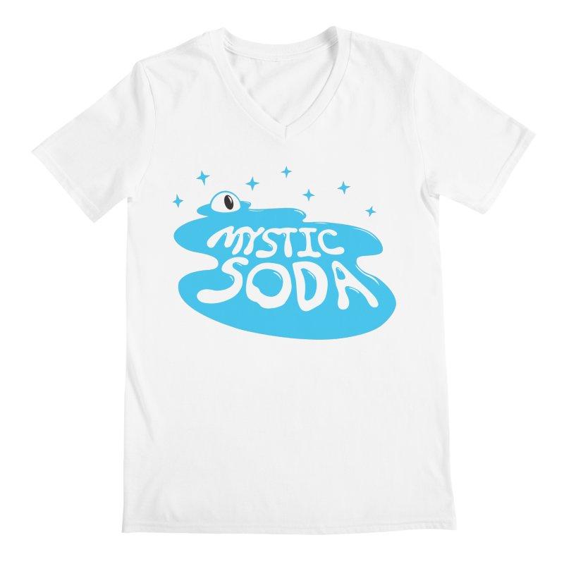 Mystic Soda Men's Regular V-Neck by Mystic Soda