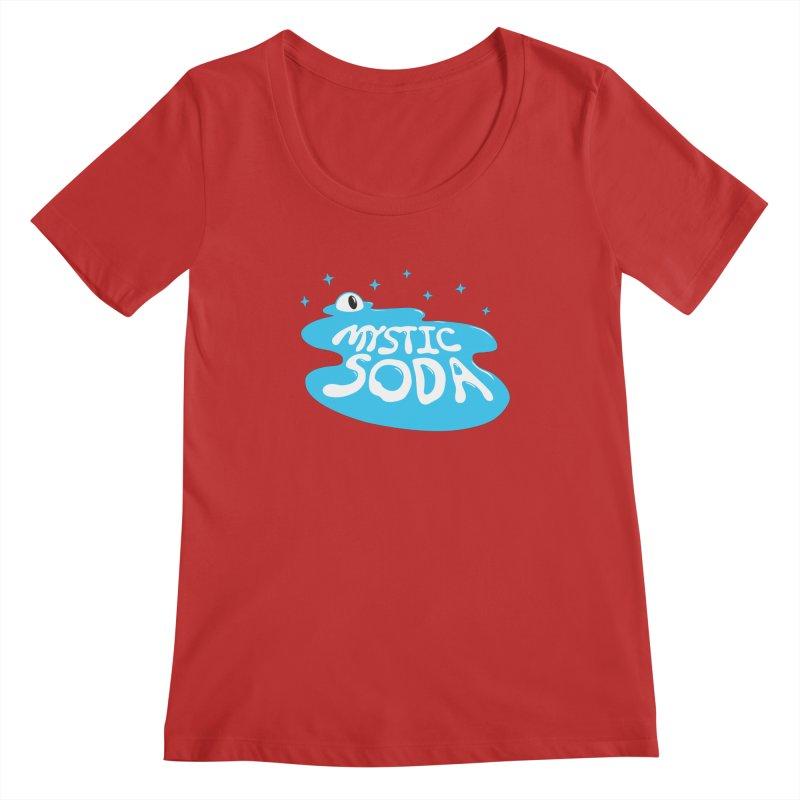 Mystic Soda Women's Regular Scoop Neck by Mystic Soda