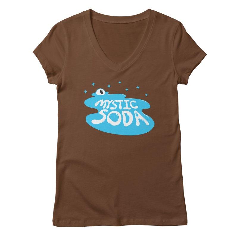 Mystic Soda Women's Regular V-Neck by Mystic Soda