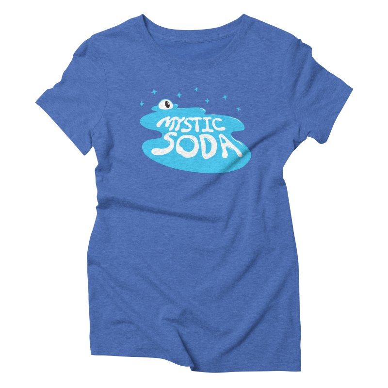 Mystic Soda Women's Triblend T-Shirt by Mystic Soda