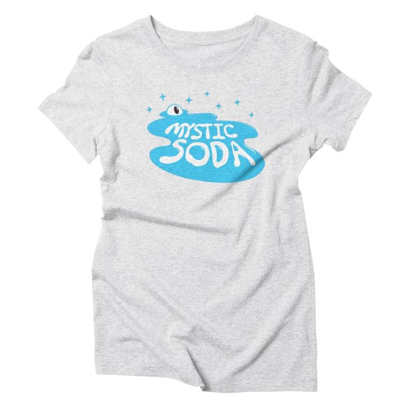 Mystic Soda Women's Triblend T-Shirt by Mystic Soda Shoppe