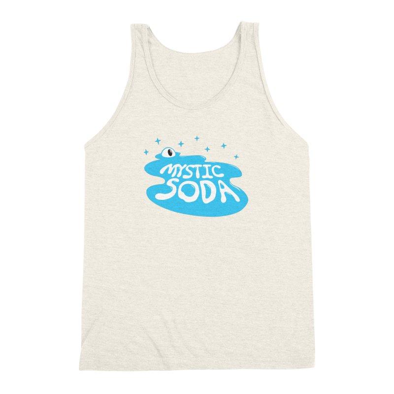 Mystic Soda Men's Triblend Tank by Mystic Soda Shoppe