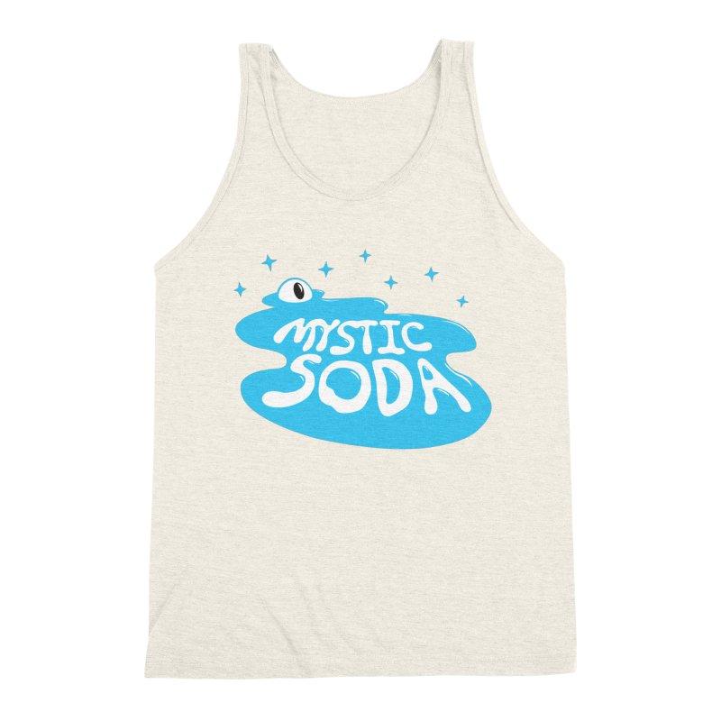 Mystic Soda Men's Triblend Tank by Mystic Soda