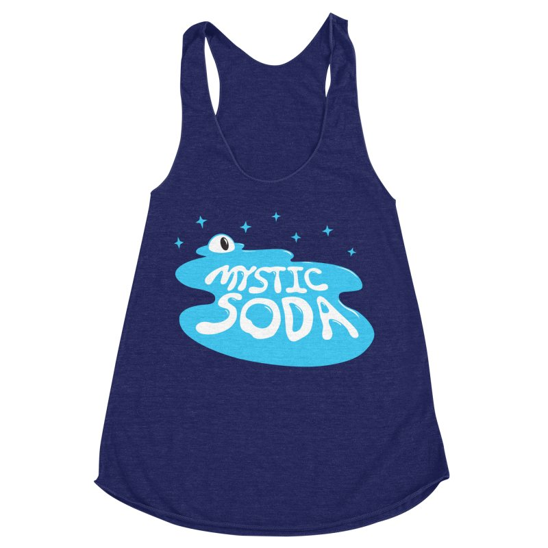 Mystic Soda Women's Racerback Triblend Tank by Mystic Soda