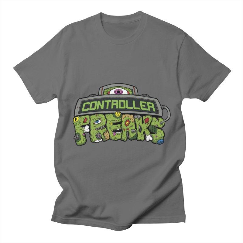 Controller Freaks - Logo Men's T-Shirt by Mystic Soda