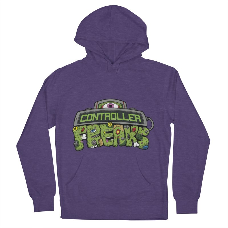 Controller Freaks - Logo Women's French Terry Pullover Hoody by Mystic Soda Shoppe