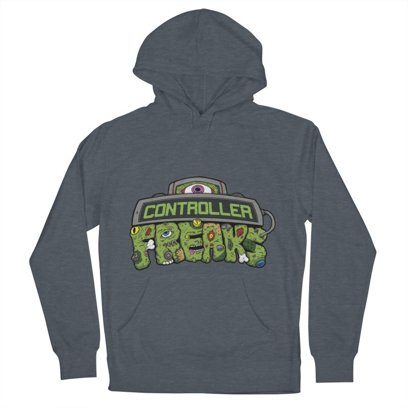 Controller Freaks - Logo Women's French Terry Pullover Hoody by Mystic Soda