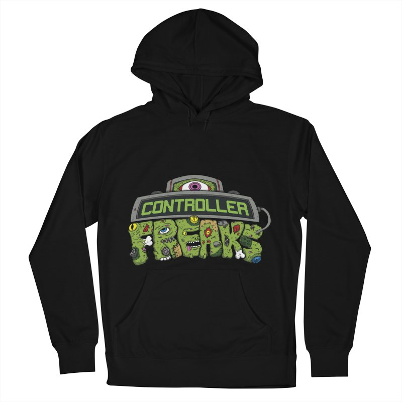 Controller Freaks - Logo Men's French Terry Pullover Hoody by Mystic Soda Shoppe