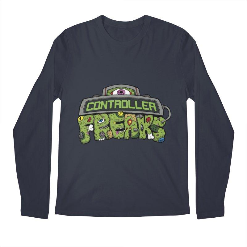 Controller Freaks - Logo Men's Regular Longsleeve T-Shirt by Mystic Soda Shoppe