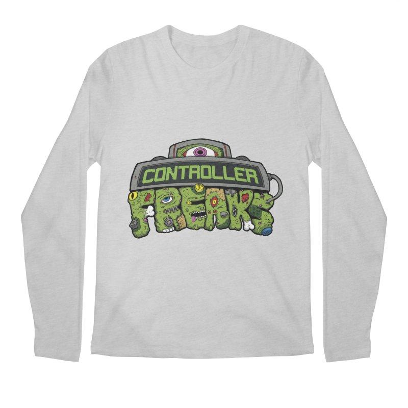 Controller Freaks - Logo Men's Regular Longsleeve T-Shirt by Mystic Soda