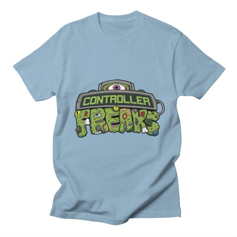 Controller Freaks - Logo Women's Unisex T-Shirt by Mystic Soda Shoppe