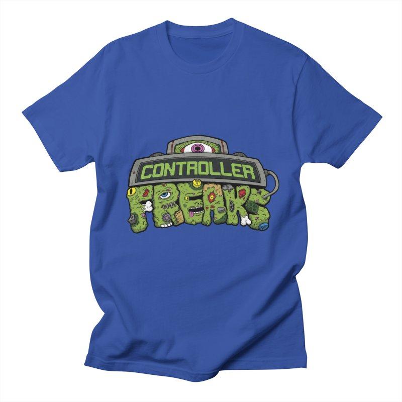 Controller Freaks - Logo Men's T-Shirt by Mystic Soda Shoppe