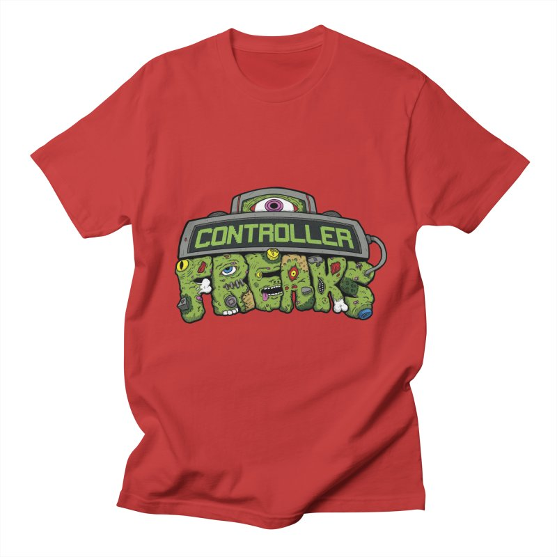 Controller Freaks - Logo Men's Regular T-Shirt by Mystic Soda