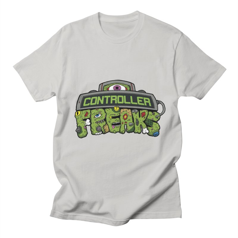 Controller Freaks - Logo Men's Regular T-Shirt by Mystic Soda