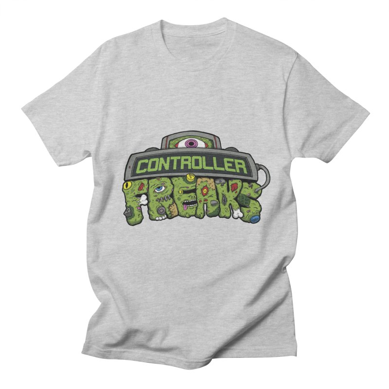 Controller Freaks - Logo Women's Regular Unisex T-Shirt by Mystic Soda