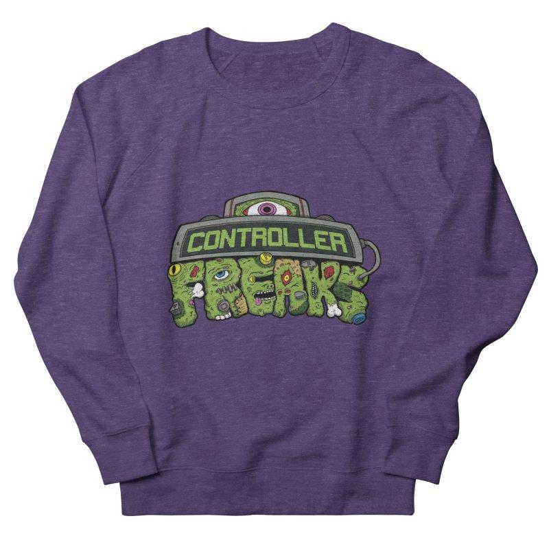 Controller Freaks - Logo Men's French Terry Sweatshirt by Mystic Soda